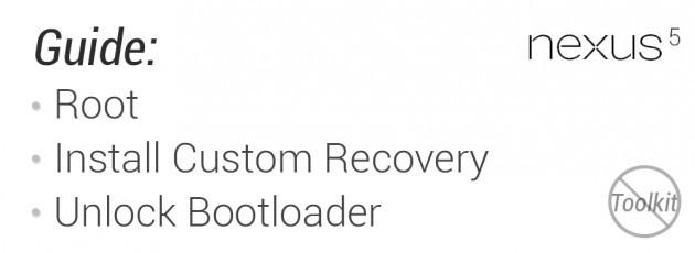 LG Nexus 5: disponibili anche le custom recovery CWM e TWRP