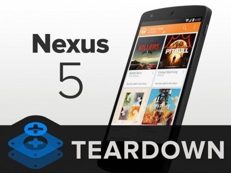 iFixit smonta il nuovo Nexus 5