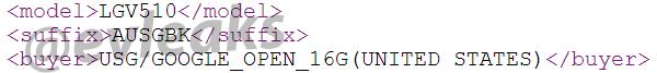 LG V510: Evleaks conferma che si tratta di un tablet Nexus