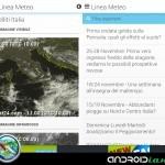 Linea Meteo Live: la recensione di Androidiani.com