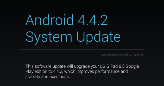 HTC One e LG G Pad 8.3 Google Play Edition ricevono ufficialmente Android 4.4.2