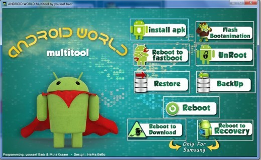Android World Multitool: un ottimo tool per il modding dei nostri device