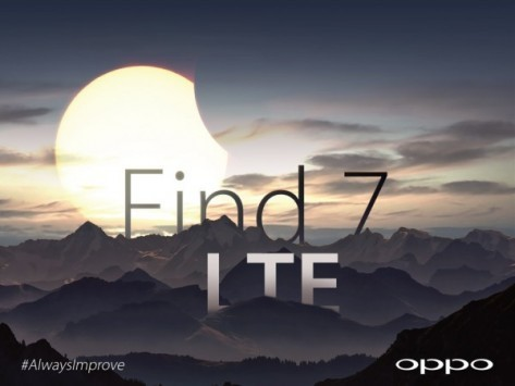 Oppo Find 7: supporto nativo alle reti LTE
