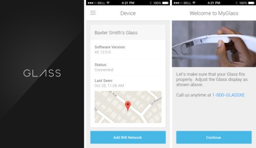 Google Glass anche su iPhone: disponibile ufficialmente l'app MyGlass