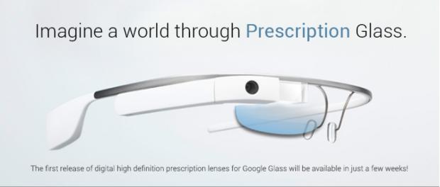 Google Glass: presto in arrivo le lenti da prescrizione