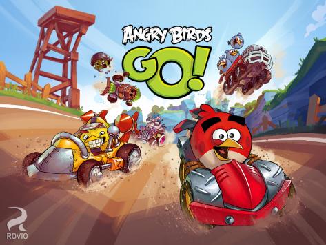 Angry Birds Go! disponibile gratuitamente su Google Play