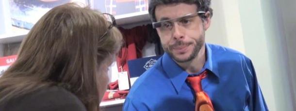 [VIDEO] Usare Google Glass in pubblico, ecco qualche divertente effetto collaterale