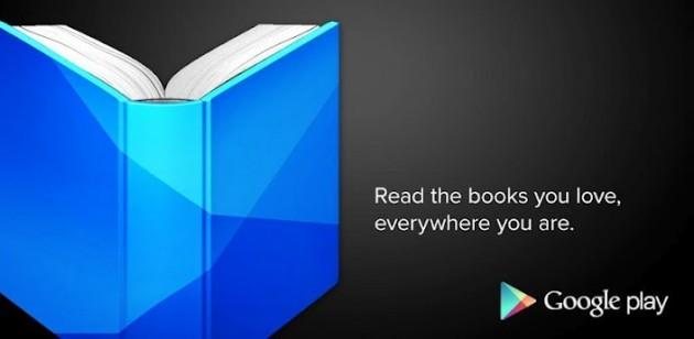 Google Play Libri: adesso è possibile caricare file fino a 100MB