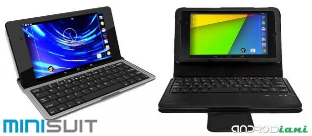 Tastiere MiniSuit per Nexus 7 2013: la recensione di Androidiani.com