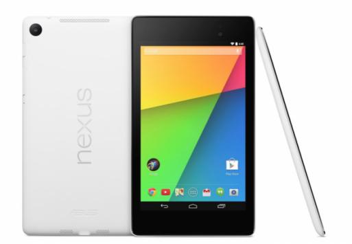 Nexus 7 bianco disponibile ora negli Stati Uniti,