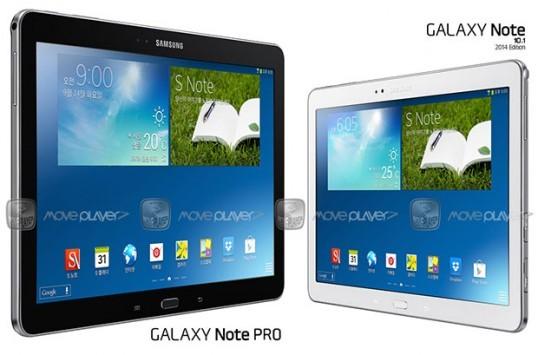 Samsung Galaxy Note Pro 12.2: ecco una nuova immagine e nuove informazioni sulle caratteristiche