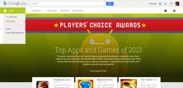 Google svela i vincitori dei
