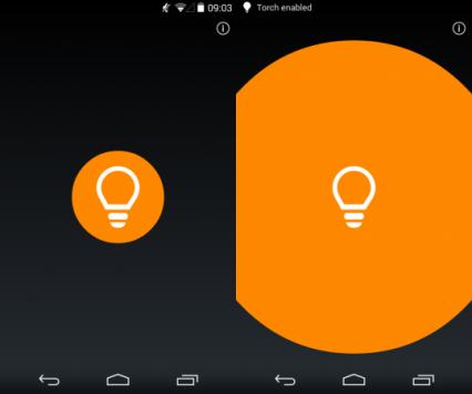 Il team Paranoid continua a lavorare sulla release Android 4.4 e mostra l'app Torcia