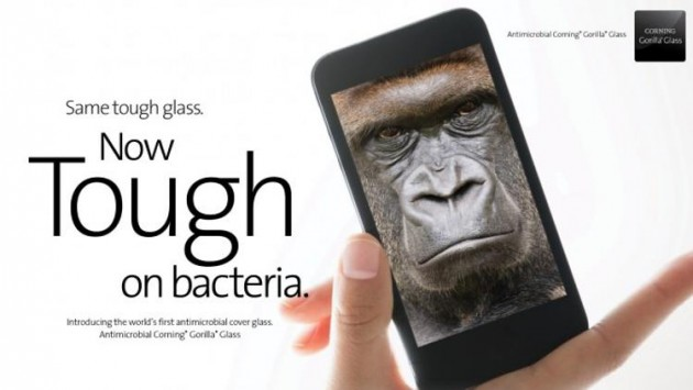 Corning annuncia il Gorilla Glass antibatterico
