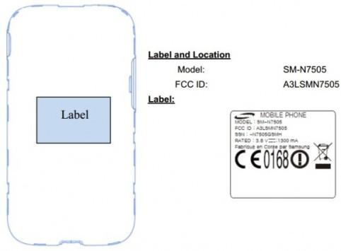 Samsung Galaxy Note 3 Neo passa la certificazione FCC
