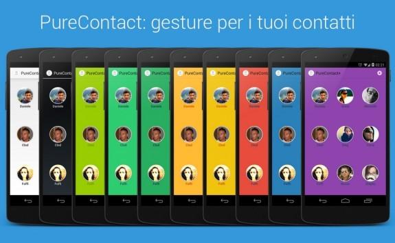 PureContact: dall'Italia arrivano le gesture per i nostri contatti