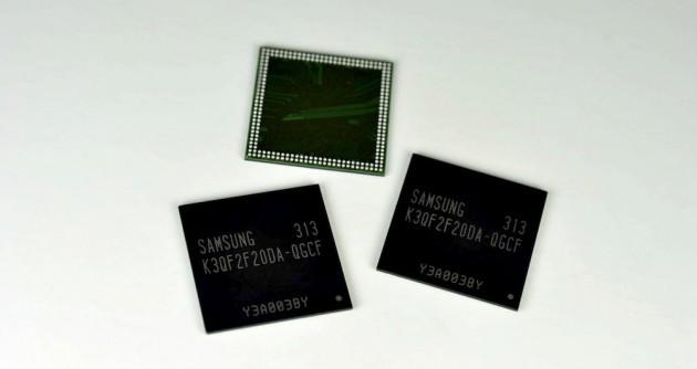 Samsung annuncia il primo modulo di memoria da 4GB per device mobile