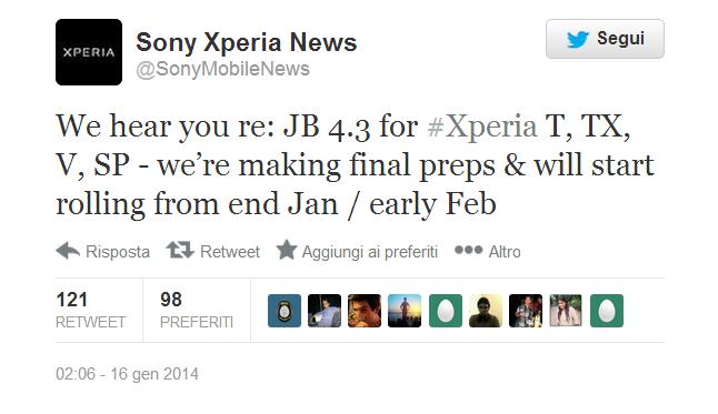 Twitter   SonyMobileNews
