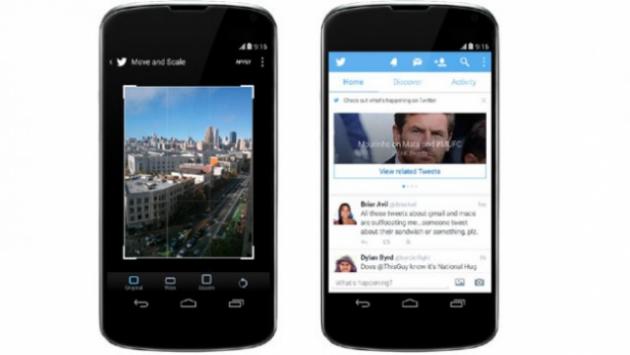 Twitter per Android si aggiorna con miglioramenti nel photo editing e nei tags
