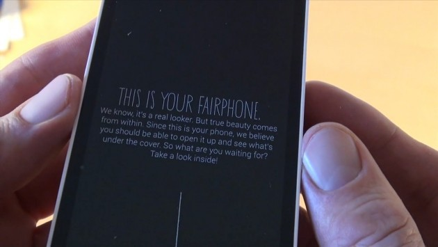 FairPhone: lo smartphone equo e solidale compare in un video unboxing