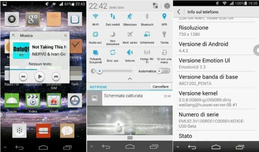 Huawei Ascend P6: ecco una prima beta leaked basata su Android 4.4.2
