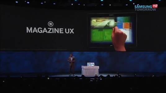 Samsung Magazine UX: la nuova interfaccia dei Galaxy Tab Pro si mostra in video