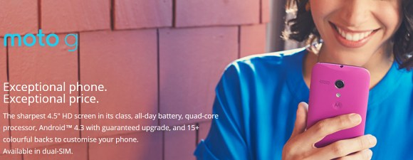 Motorola Moto G: arriva la versione Dual Sim per 210 dollari