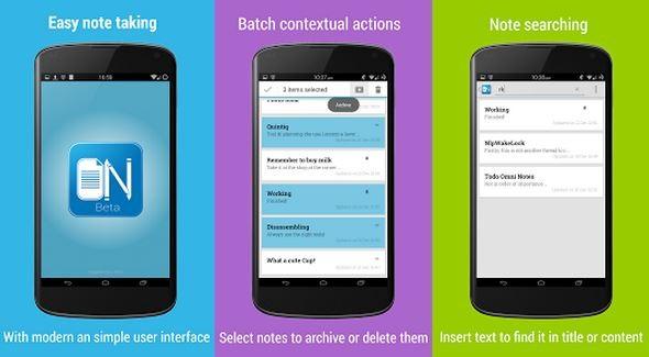 Omni Notes: ecco una nuova applicazione che sfida Evernote e Keep