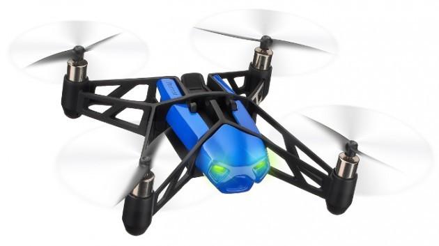 Parrot svela il nuovo MiniDrone, un AR.Drone grande quanto un palmo di mano