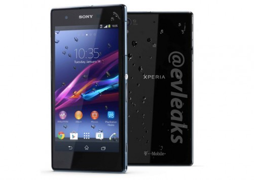 @evleaks: immagine e specifiche tecniche del Sony XPERIA Z1S