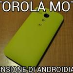 Motorola Moto G - La recensione di Androidiani.com