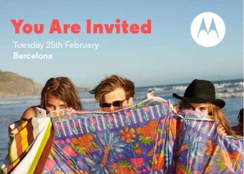Motorola: importante evento il 25 Febbraio durante l'MWC 2014