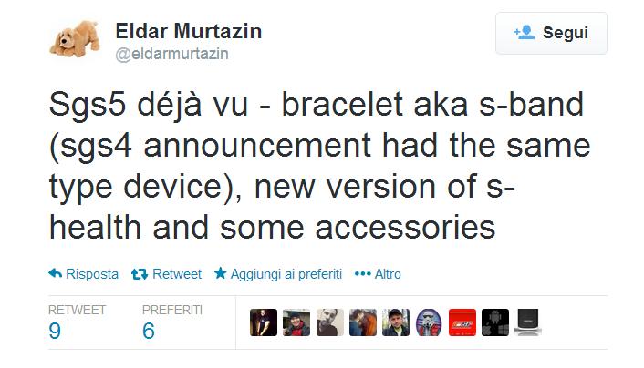 Twitter   eldarmurtazin  Sgs5 déjà vu   bracelet aka ...