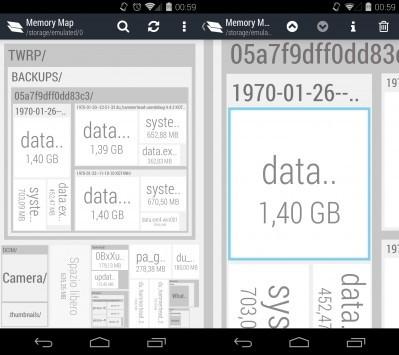 Memory Map: per tenere sotto controllo l'archivio del proprio dispositivo