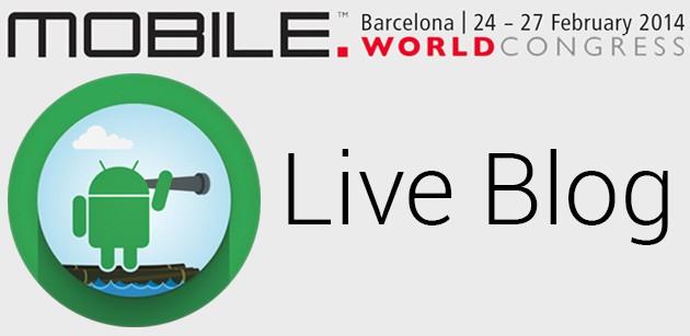 MWC 2014 - Segui il Live Blog di Androidiani.com