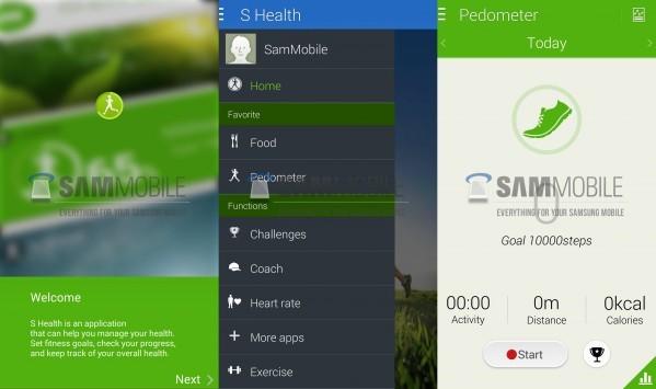 Svelata la nuova interfaccia di S Health, l'applicazione per il fitness di Samsung