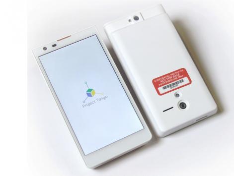 Google annuncia Project Tango, uno smartphone in grado di mappare il mondo che lo circonda