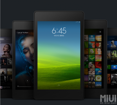 MIUI: Prima release ufficiale per Tablet