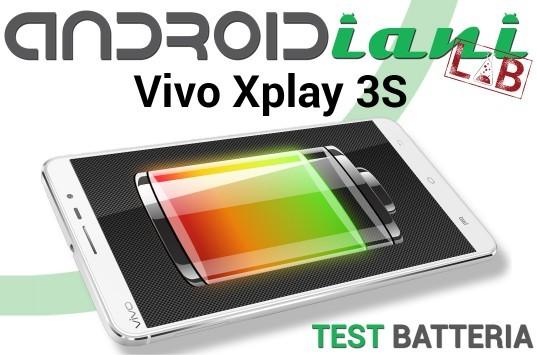 Vivo Xplay 3S: test della batteria [Androidiani Lab]