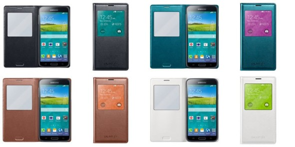 Samsung Galaxy S5: ecco alcune immagini degli accessori ufficiali