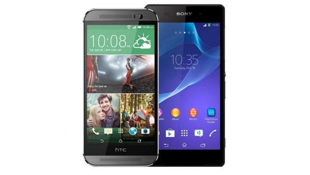 HTC One (M8) vs Sony Xperia Z2: confronto tra gli speaker