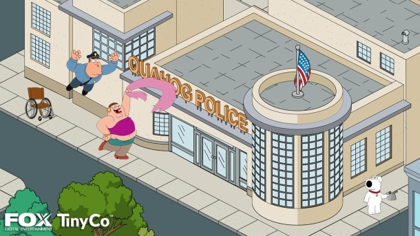 I Griffin: ecco i primi screenshots del videogame per Android