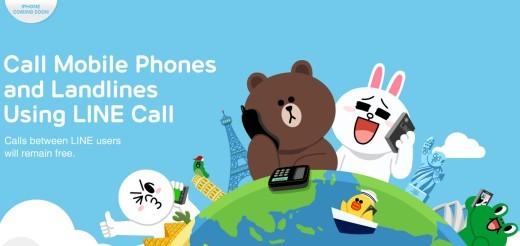LINE Call: arrivano le chiamate VoIP in 8 stati del mondo