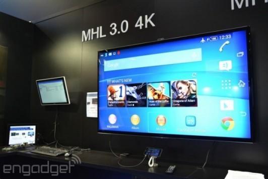 MHL 3.0: riproduzione video in 4K e trasferimento dati più veloce