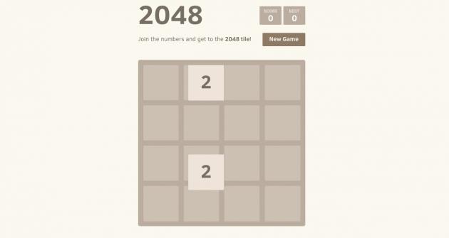 2048: Nuovo gioco tormentone?