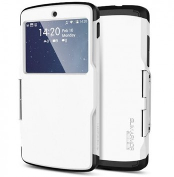 Spigen Slim Armor View: ecco una nuova flip cover con finestra per Nexus 5