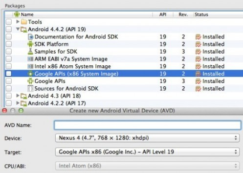 Google e Intel rilasciano la prima immagine di sistema Android 4.4.2 x86