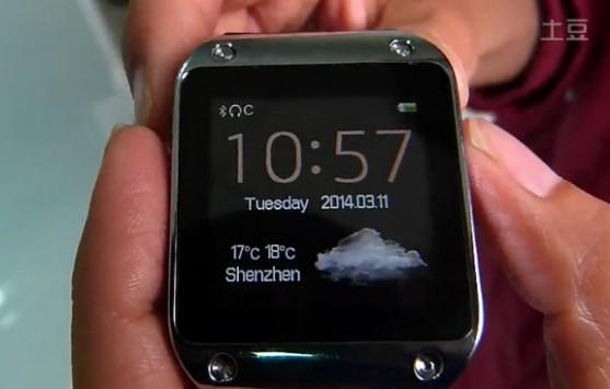 Podoor PW305: ecco il primo clone del Samsung Galaxy Gear
