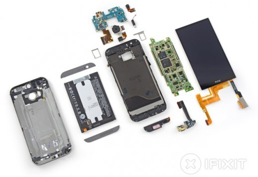 HTC One (M8), il teardown di iFixit mostra cosa c'è sotto
