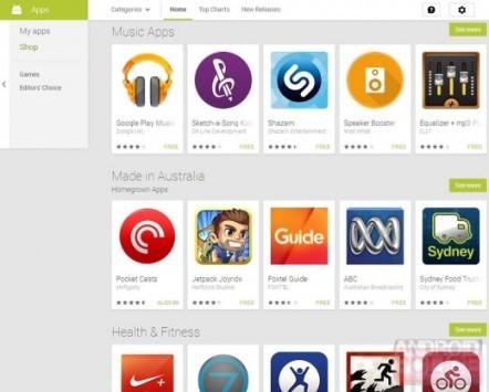 Google Play Store: in arrivo una nuova sezione?